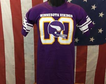 Minnesota Vikings jersey shirt small