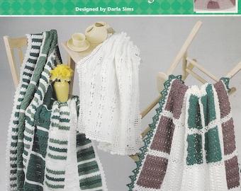 Marvelous Mix & Match Afghans, Annie's Attic Crochet Pattern Booklet 872517
