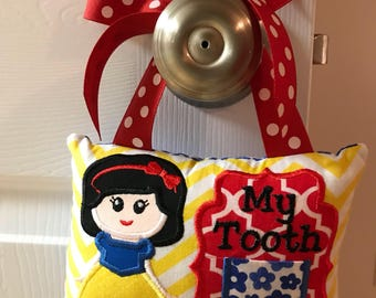Snow White Tooth Fairy Pillow