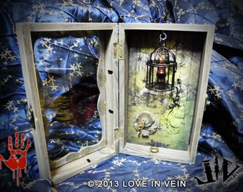 LOVE IN VEIN™ - Original Love Vial™ Shrine - 2013 Range: Love Shrine - a sacred place to stow your Love Vials