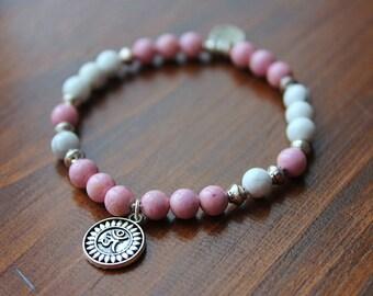 PINKY bracelet. Earth heart