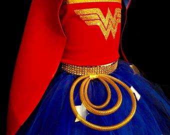 Girl Wonder Woman wonder woman  costume Wonder Woman outfit Wonder Woman birthday wonder woman cosplay wonder woman party wonder woman dress