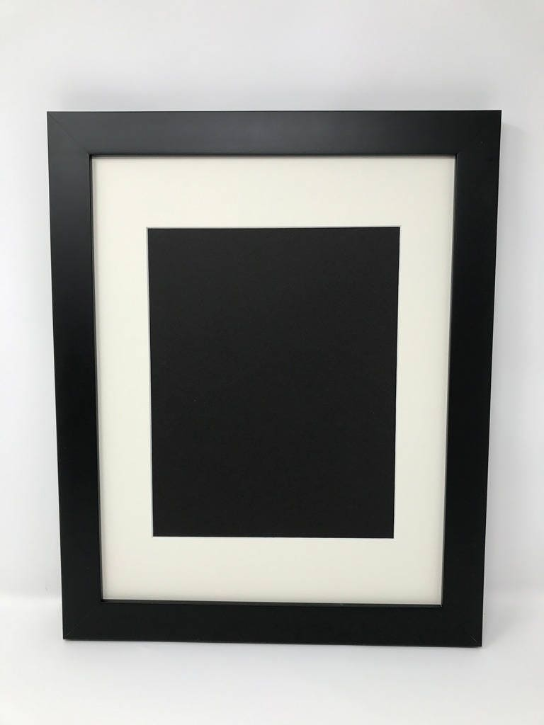 16x20 125 black frame with cream mat cut for 12x16 zoom jeuxipadfo Gallery