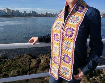 Granny crochet scarf crochet scarf