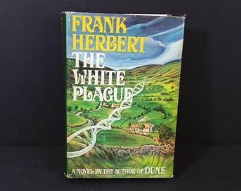 Vintage The White Plague Hardback Frank Herbert 1982 First Edition