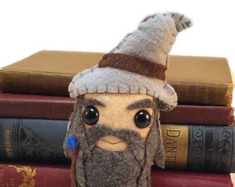 Gandalf plushie (made to order)