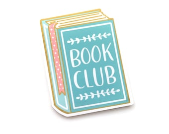 MAGNETIC BOOKMARK - Book Club Book Lover Reader Funny Quote