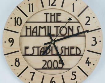 Craftsman Clock Etsy