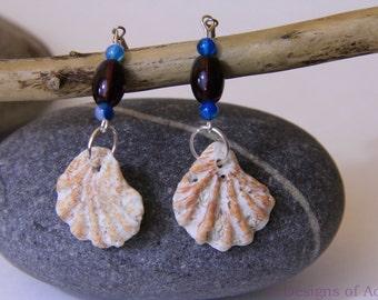 SALE!! 40% OFF! Seashell Earrings