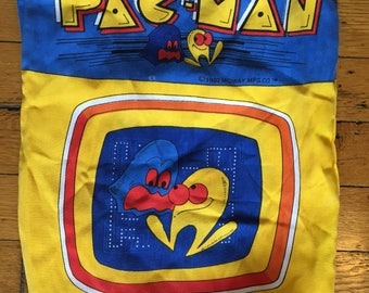 1982 Midway Pac-Man tote bag