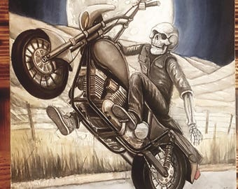 ride the harvest moon