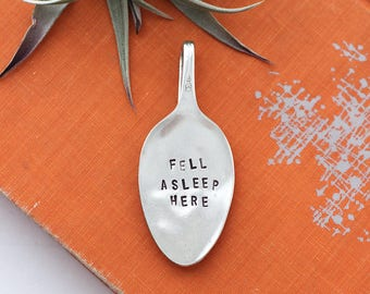 Stamped Spoon Bookmark