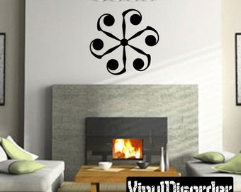 Snowflakes Vinyl Wall Decal Or Car Sticker - Mv024ET