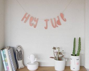 Garland-Felt-Hey Jude