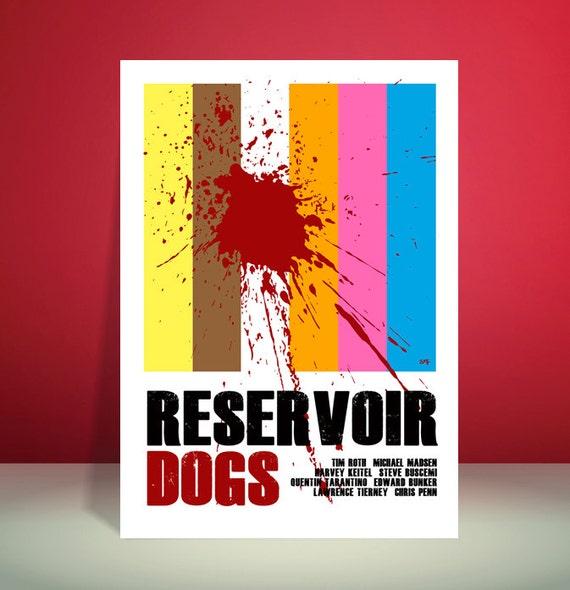 Reservoir Dogs // Quentin Tarantino // Movie Poster // Unique Art Print