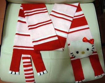 Hello Kitty Scarf Birthday Christmas Gift For Girls
