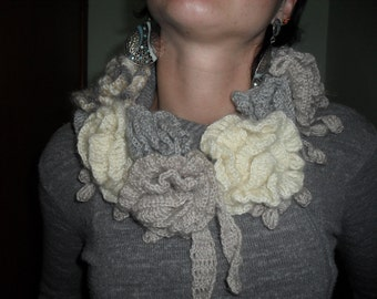 wool necklace scarf