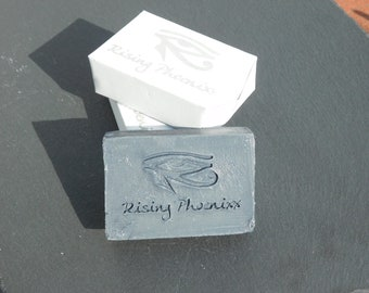 Activated Charcoal / Face Soap / Detoxifying / Skin Refreshing / Anti-Acne / Cold Process Facial Soap