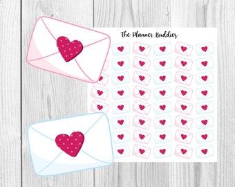 Happy Mail, Planner Stickers, Cute Stickers, Envelopes, Mail