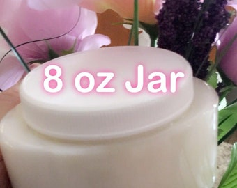 Whipped Thick Body Butter Cream - Designer Quality - 8 oz. Jar - Your Choice Scent