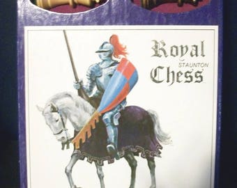VIntage Royal Chess Game by Staunton