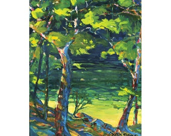 Willoughby Giclee Fine Art Print of Original Oil Painting