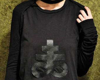 Made to Order Black Extra Long Sleeve Layering Shrug