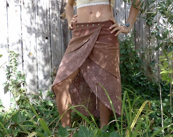 Dharma Brown skirt