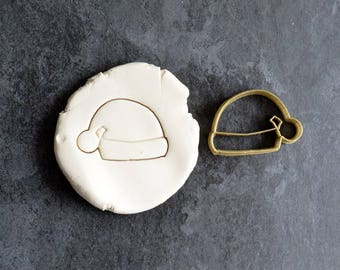 Santa's hat cookie cutter - Hat cookie cutter - Christmas cookie cutter - Cookie cutter - Pastry - Cookies - Christmas