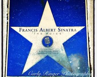 Hoboken - Frank Sinatra Star Tile Coaster
