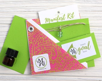 Amethyst Necklace Manifest Kit
