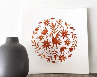 Otomi Inspired Mandala