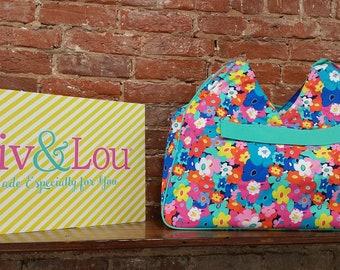 Viv & Lou -  Beach Bag - Poppy