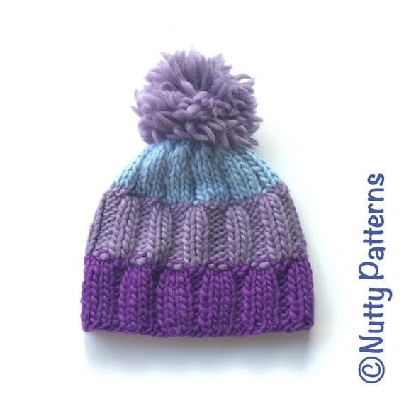 Funky Knitting Pattern Hat Straight Needles Inspiration - Knitting ...