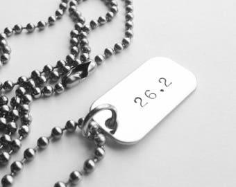 Marathon / Half Marathon Runner's Necklace
