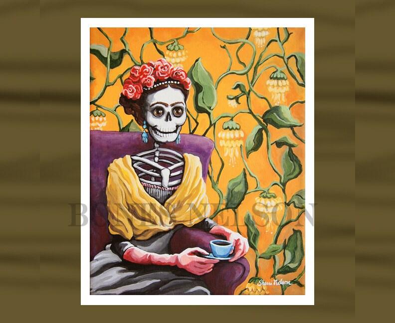 Frida Kahlo Paintings Bath
