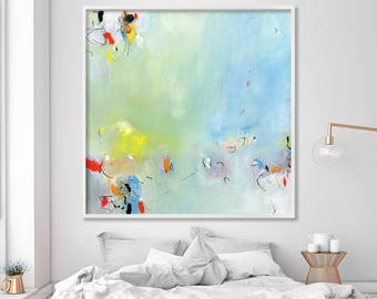 Large wall art, Abstract art print from acrylic painting, prints wall art, art prints, abstract painting,, canvas art by Duealberi