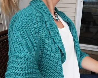 Chloe Cardigan ~ A Crochet Pattern