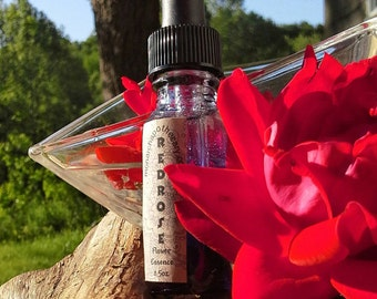Red Rose Flower Essence