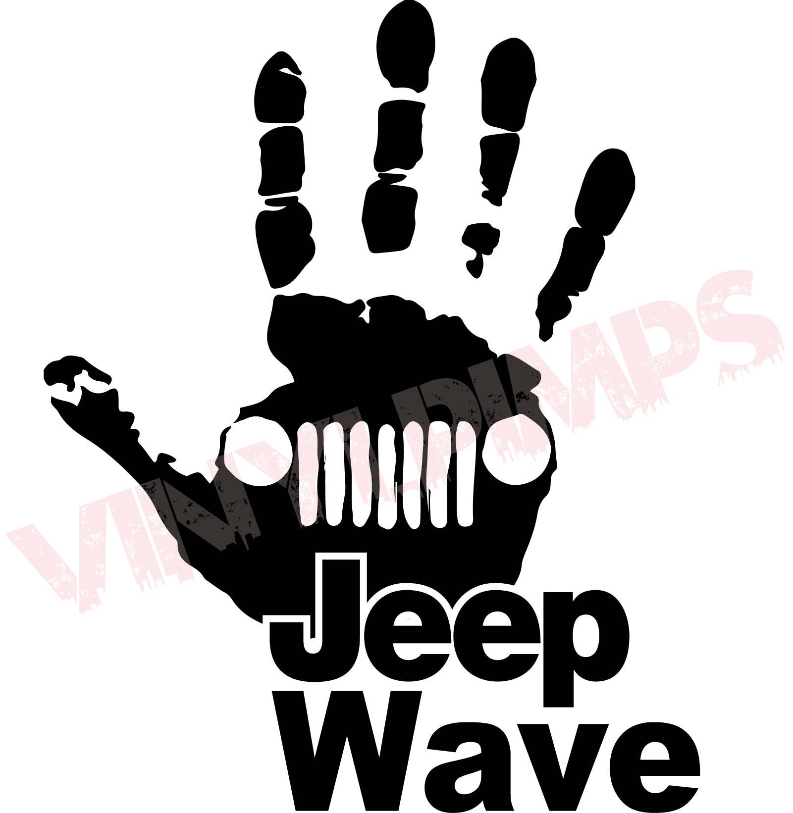 jeep wave decal jeep wrangler unlimited sahara jk tj rh etsy com jeep wrangler logo jacket jeep wrangler logo decals