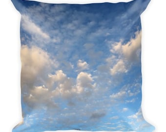 Head on the Clouds C - cloud pillow - Home Decor Pillow Covers - 2 sizes available