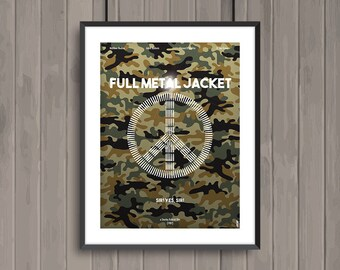 FULL METAL JACKET, minimalist movie poster