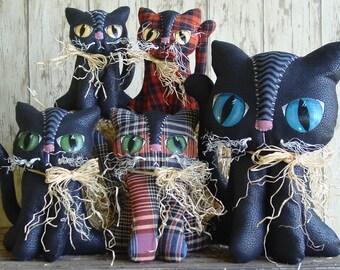 CF267 Boo Kats Sewing E-Pattern Pattern for Fabric Cats