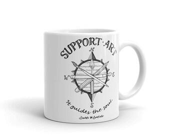 Support Art Brand Coffee Mug