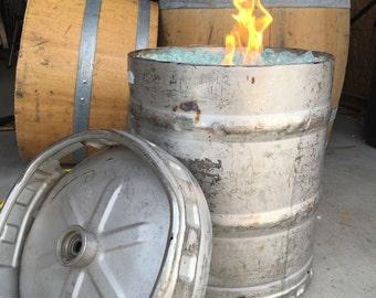 "Keg Barrel Fire Pit-""Party Foul"""