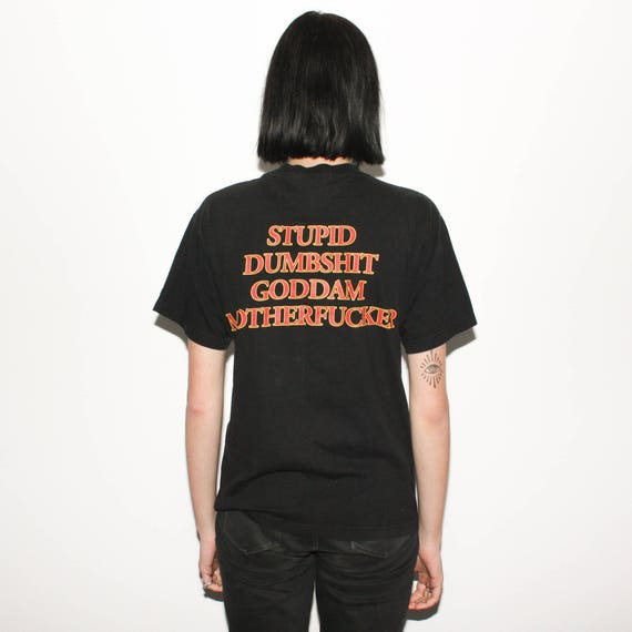 T Stupid Smash Motherfucker Goddam The Promo Offspring Shirt Dumbshit 90s 1998 Tour Ftv7xIt