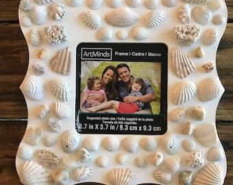Sea shell photo frame- Mermaid's treasure