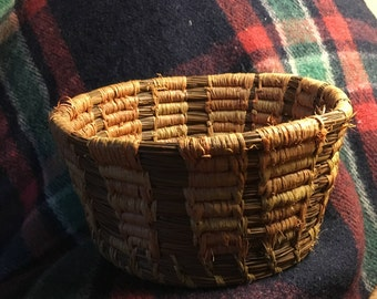 Long Leaf Pine Needle Basket