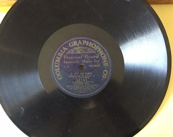 """Shellac 10"""" Records from early 1900's to 1940's"""