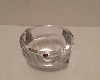 Orrefors sweden crystal bowl